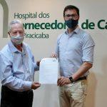 Alex de Madureira destina R$ 600 mil para hospitais de Piracicaba