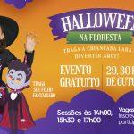 Shopping Piracicaba promove Halloween na Floresta Encantada
