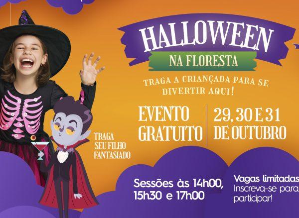 Halloween na Floresta Encantada do Shopping Piracicaba