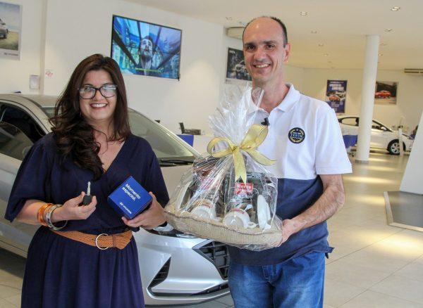 Samuel Alves de Oliveira, ganhador do Hyundai HB20 Sense